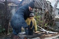 Из-за пожара тульская семья живет в сарае , Фото: 20