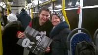 Творческий троллейбус «Субботняя улитка» снова радует туляков, Фото: 3