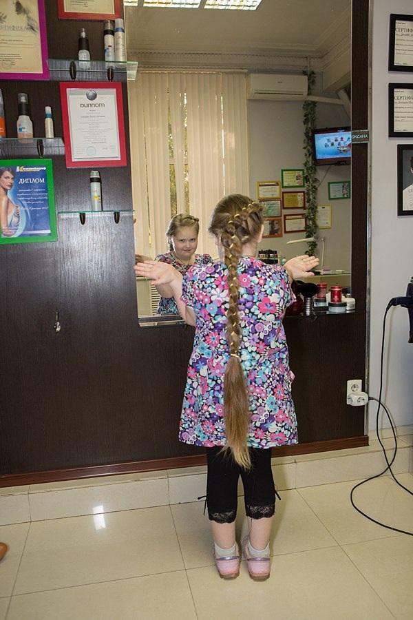 Марья-краса длинная коса, ч2. Длина косы 72 см, в обхвате 12 см.