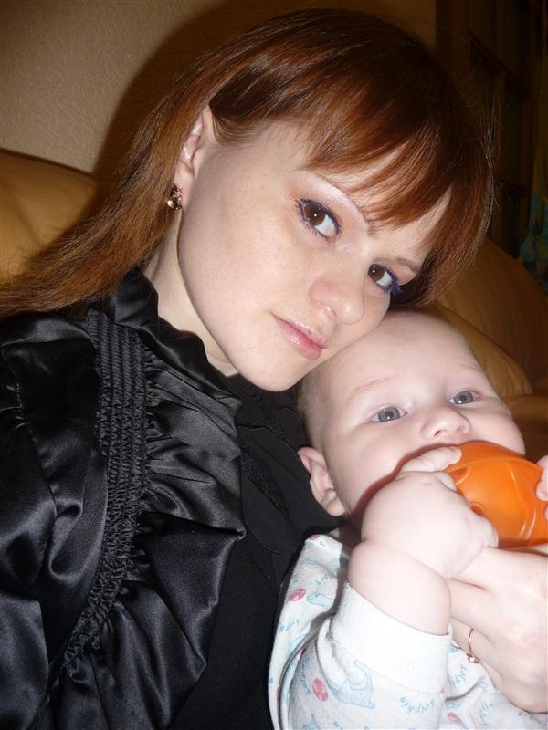 мой ещё совсем маханький комочек счастья)))