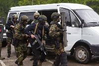В Туле спецподразделения ОМОН и СОБР провели учения, Фото: 8