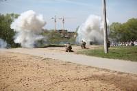 Реконструкция боевых действий. Центральный парк. 9 мая 2015 года, Фото: 26