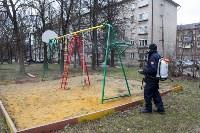 Дезинфекция в Пролетарском округе Тулы, Фото: 31