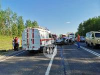 В серьезном ДТП под Тулой пострадали шесть человек, Фото: 13