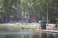 Реконструкция боевых действий. Центральный парк. 9 мая 2015 года, Фото: 71