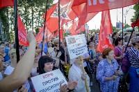 Митинг против пенсионной реформы в Баташевском саду, Фото: 37
