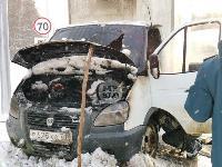 В Туле водитель бетономешалки и военные потушили горящую на трассе ГАЗель, Фото: 7