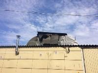"""На ул.9 Мая сгорел рынок """"Салют"""", Фото: 10"""