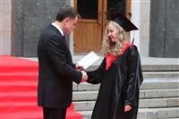 Владимир Груздев поздравил выпускников магистратуры ТулГУ, Фото: 25