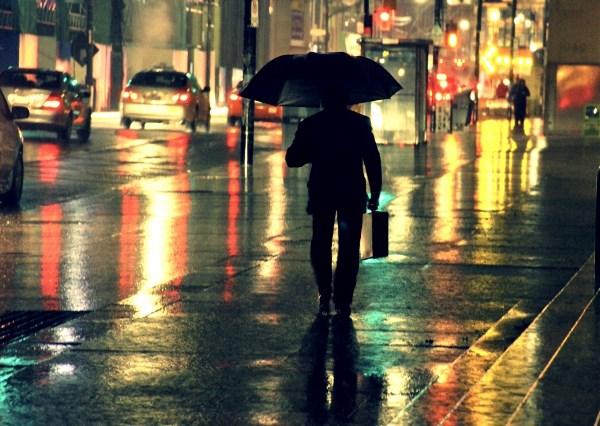 Дождливый Торонто
