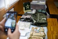 Экспресс-тест на covid-19, маски и социальная дистанция: В Туле первых призывников отправили в армию, Фото: 23