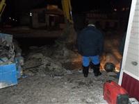 Порыв отопления в Ефремове, 22.01.2014, Фото: 4