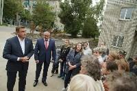 Алексей Дюмин посетил дом в Ясногорске, восстановленный после взрыва, Фото: 11