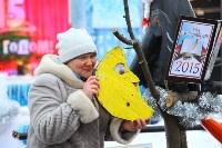 Арт-объекты на площади Ленина, 5.01.2015, Фото: 12