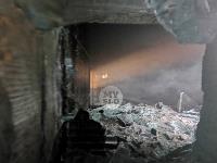 В Туле пожарные вынесли из горящего особняка больную женщину, Фото: 2