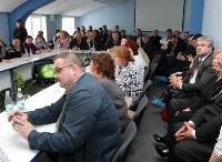 Алексей Дюмин посетил Узловский молочный комбинат, Фото: 18
