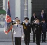 19 сентября в Туле прошла церемония вручения знамени управлению МВД , Фото: 18