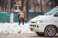 Последствия снежного циклона в Туле, Фото: 5