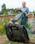 Туляк Виталий Галеев придумал сегвей на гусеницах, Фото: 25