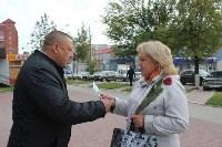 Сергей Шестаков поздравляет тулячек с наступающим днем города, Фото: 7