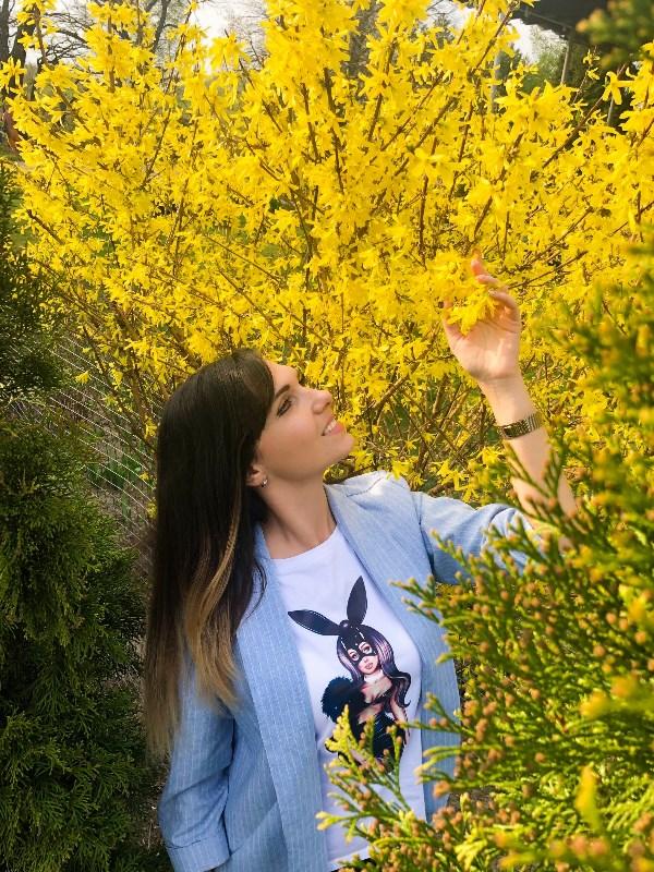 Желтое облако весны