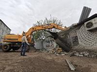 Снос незаконных павильонов в Заречье, Фото: 8