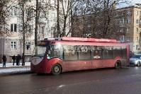Бесхозный пакет в троллейбусе, Фото: 3