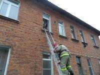 Пожар в Суворовском районе утром 16 декабря, Фото: 1