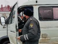 Проверка транспорта в Новомосковске, Фото: 3