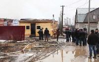 Пожар в цыганском поселении в Плеханово, Фото: 4