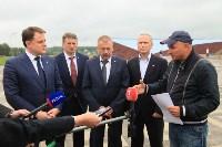 Владимир Груздев проинспектировал строительство мемориала «Защитникам неба Отечества». 20 июля 2015, Фото: 6