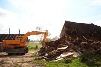 В Плеханово продолжается снос незаконных цыганских построек, Фото: 3