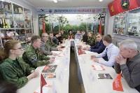 Алексей Дюмин встретился с представителями тульского поискового движения, Фото: 1