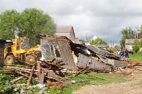 В Плеханово продолжается снос незаконных цыганских построек, Фото: 13