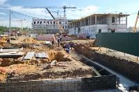 Строительство суворовского училища. 6 июля 2016 года, Фото: 1