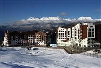 """Вид на главную горную олимпийскую деревню на территории горнолыжного курорта """"Роза Хутор"""" в Сочи., Фото: 11"""