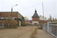 16 октября Владимир Груздев проконтролировал ход работ по благоустройству набережной, Фото: 3