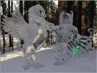 Ледяные скульптуры, Фото: 10