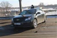ДТП на мосту через Упу с участием «скорой». 28 января 2014, Фото: 6