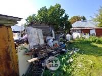 В Туле со двора «Плюшкиной» вывезли несколько грузовиков мусора, Фото: 11