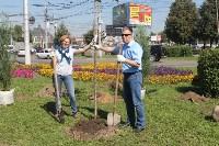 Высадка деревьев и растений ко Дню города, Фото: 11