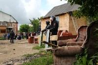 В Плеханово продолжается снос незаконных цыганских построек, Фото: 24