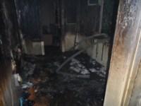 Пожар в Суворове ночью 28 сентября, Фото: 2