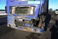 """На трассе М2 автомобиль """"скорой"""" столкнулся с автовозом., Фото: 12"""