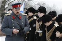 Никита Руднев-Варяжский, внук легендарного командира «Варяга» с визитом в Тульскую область, Фото: 12