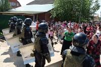 В Плеханово начали сносить дома в цыганском таборе, Фото: 119