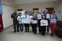 Тульские омоновцы провели конкурса детского рисунка, Фото: 3