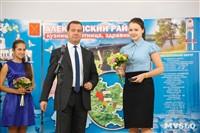 Дмитрий Медведев вручает медали выпускникам школ города Алексина, Фото: 7
