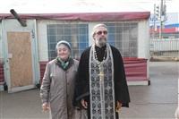 Освящение креста купола Свято-Казанского храма, Фото: 6