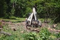 На Косой Горе строят лыжероллерную трассу, Фото: 12
